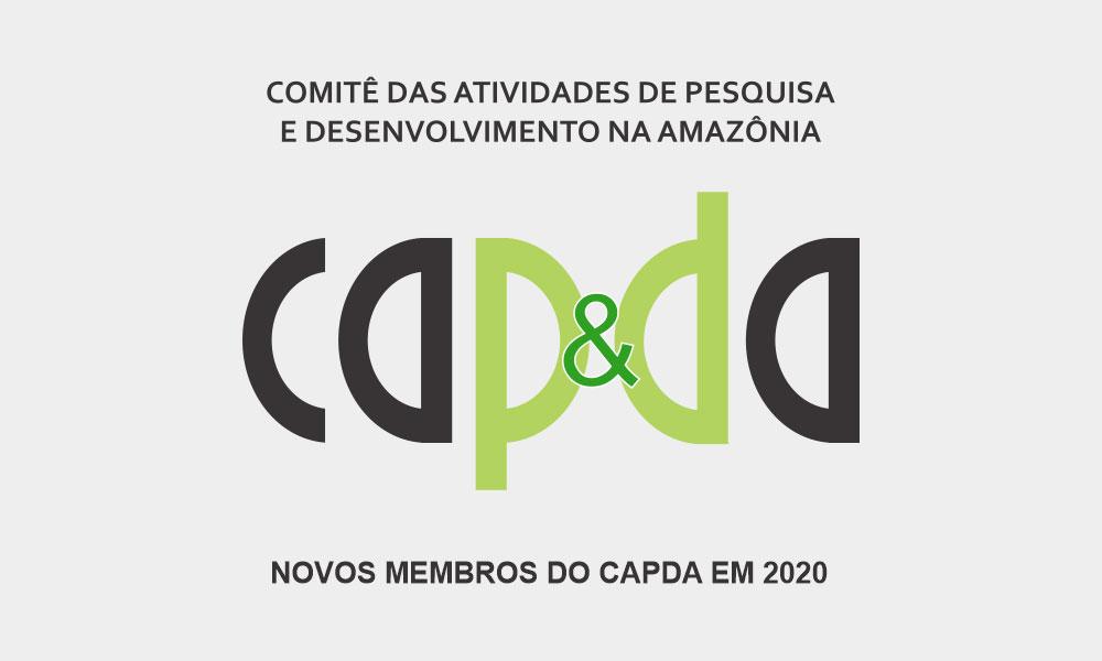 NOVOS MEMBROS DO CAPDA EM 2020